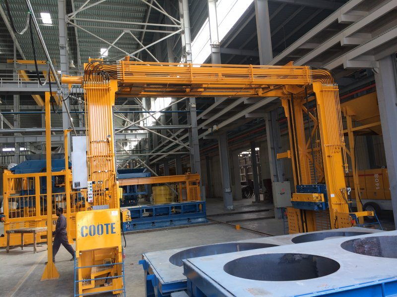 Pallet Handler Machines from Coote Engineering | Precast Concrete